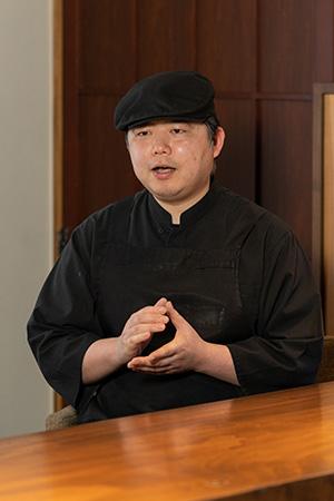 Restaurant ISO 磯部冬人シェフ